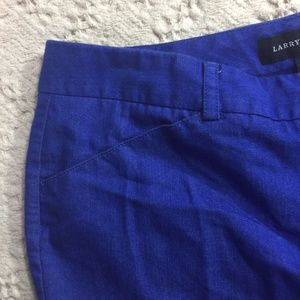 Larry Levine Electric Blue Trousers